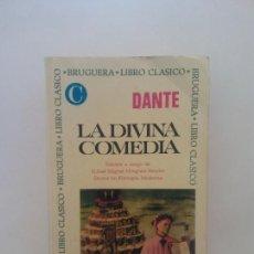 Libros de segunda mano: LA DIVINA COMEDIA. DANTE. EDITORIAL BRUGUERA. Lote 269115618