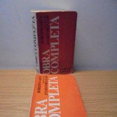 Libros de segunda mano: ROBERTO ARLT. OBRA COMPLETA. PREFACIO DE JULIO CORTAZAR. TOMO I Y II. CARLOS LOHLE 1981.. Lote 269129888