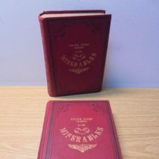 Libros de segunda mano: LOS MISERABLES. VICTOR HUGO. TOMO I Y II. CASA EDITORIAL MAUCCI. VER FOTOGRAFIAS ADJUNTAS. Lote 269159563