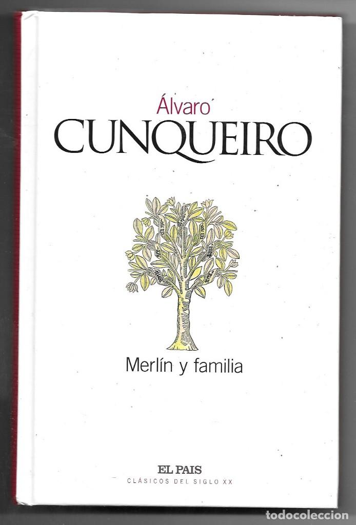 ÁLVARO CUNQUEIRO . MERLÍN Y FAMILIA (Libros de Segunda Mano (posteriores a 1936) - Literatura - Narrativa - Otros)