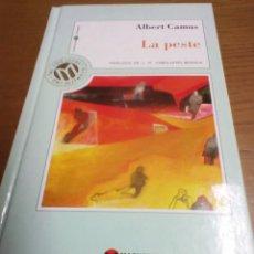 Libros de segunda mano: LA PESTE, ALBERT CAMUS. Lote 269404513