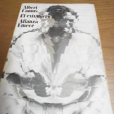 Libros de segunda mano: EL EXTRANJERO, ALBERT CAMUS. Lote 269405068