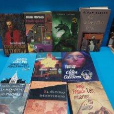Libros de segunda mano: LITERATURA....LOTE NUMERO 09....10 LIBROS DE LITERATURA....VV.AA... Lote 269461928