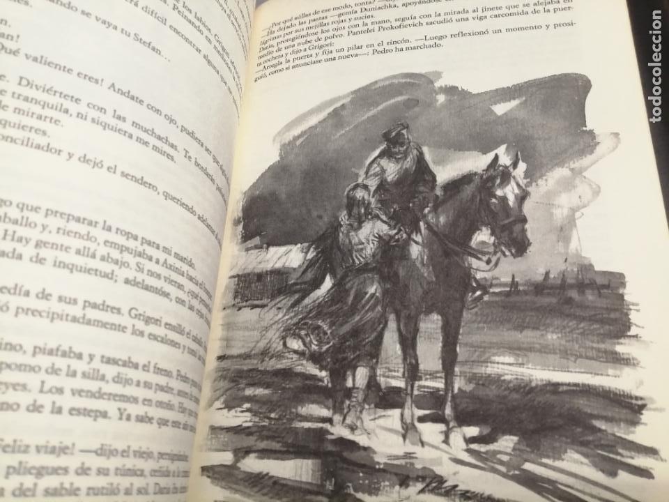 Libros de segunda mano: EL DON APACIBLE / EN 2 TOMOS / MIJAIL ALEXANDROVICH CHOLOJOV / CÍRCULO DE LECTORES - Foto 3 - 269473368