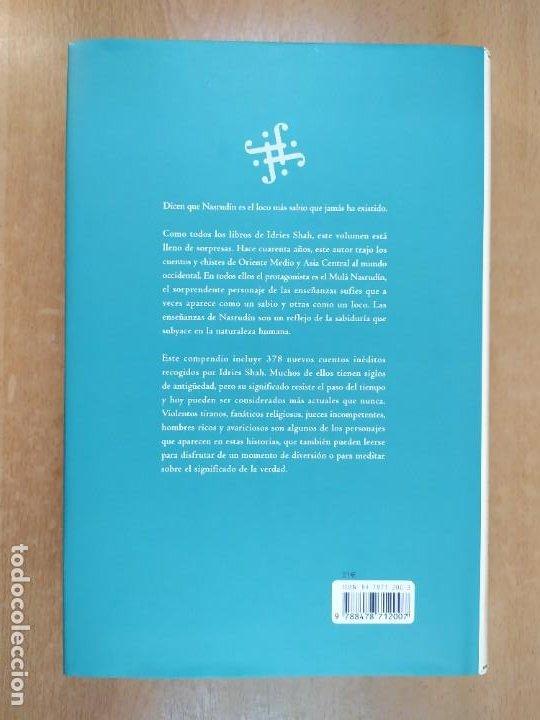 Libros de segunda mano: EL MUNDO DE NASRUDÍN. CUENTOS SUFÍES / IDRIES SHAH / 1ªed.2004. INTEGRAL - Foto 3 - 269479018