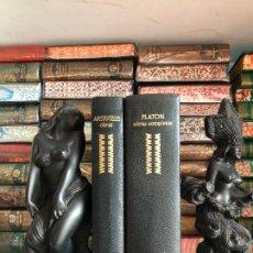 Livros em segunda mão: PLATON - ARISTOTELES - 2 TOMOS - AGUILAR - GRANDES CULTURAS. Lote 269484888
