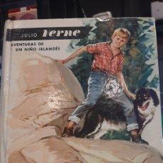 Libros de segunda mano: JULIO VERNE AVENTURAS DE UN NIÑO IRLANDES 55 EDITORIAL MOLINO. Lote 269617583