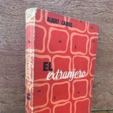 Libros de segunda mano: EL EXTRANJERO - ALBERT CAMUS - EDICIONES CID / COLECCION ALTOR - 1958. Lote 269620158