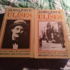 Libros de segunda mano: JOYCE. ULISES. BRUGUERA 1982. Lote 269967598