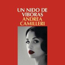 Livros em segunda mão: UN NIDO DE VÍBORAS. ANDREA CAMILLERI.- NUEVO. Lote 270093823