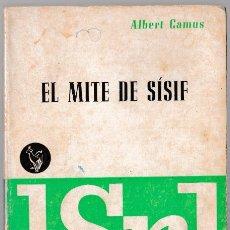 Libros de segunda mano: EL MITE DE SÍSIF - ALBERT CAMUS - VERGARA 1965 - CATALÀ. Lote 270122278