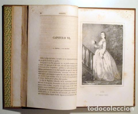 Libros de segunda mano: ANGELON, Manuel - HUGO, Victor - RIGOLETTO - Barcelona 1864 - Ilustrado - Foto 4 - 271129628