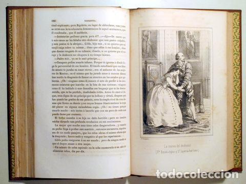Libros de segunda mano: ANGELON, Manuel - HUGO, Victor - RIGOLETTO - Barcelona 1864 - Ilustrado - Foto 5 - 271129628