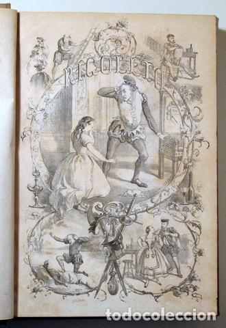 ANGELON, MANUEL - HUGO, VICTOR - RIGOLETTO - BARCELONA 1864 - ILUSTRADO (Libros de Segunda Mano (posteriores a 1936) - Literatura - Narrativa - Otros)