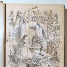 Libros de segunda mano: ANGELON, MANUEL - HUGO, VICTOR - RIGOLETTO - BARCELONA 1864 - ILUSTRADO. Lote 271129628