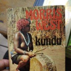 Libros de segunda mano: KUNDU, MORRIS L. WEST. L.8760-1092. Lote 271387878