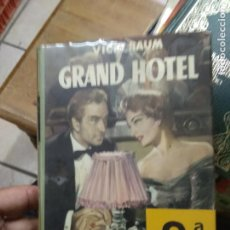 Libros de segunda mano: GRAND HOTEL, VICKI BAUM. L.8760-1097. Lote 271388983