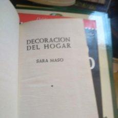 Libros de segunda mano: DECORACIÓN DEL HOGAR. MIL FÓRMULAS PARA EMBELLECER Y HACER MÁS ATRACTIVO SU HOGAR. - VV. AA.-. Lote 271543108