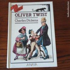 Libros de segunda mano: CHARLES DICKENS - OLIVER TWIST (ANAYA, TUS LIBROS, 1990). 1ª ED.. Lote 271602308