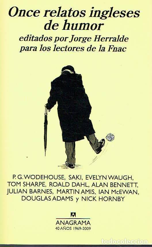ONCE RELATOS INGLESES DE HUMOR.-NUEVO (Libros de Segunda Mano (posteriores a 1936) - Literatura - Narrativa - Otros)