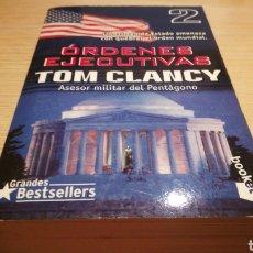 Livros em segunda mão: OPERACIÓNES EJECUTIVAS - TOM CLANCY - GRANDES BESTSELLES. Lote 272270148