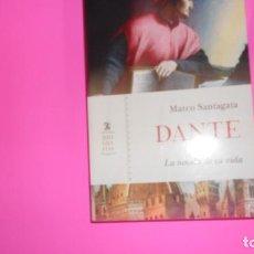 Libros de segunda mano: DANTE, LA NOVELA DE SU VIDA, MARCO SANTAGATA, ED. CÁTEDRA, TAPA BLANDA. Lote 273711368