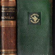 Libros de segunda mano: STEFAN ZWEIG : OBRAS COMPLETAS - TOMO I NOVELAS (JUVENTUD, 1952). Lote 273722183