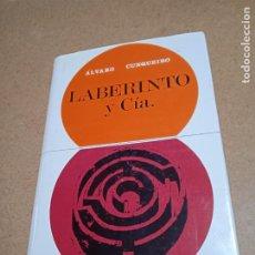 Libros de segunda mano: LABERINTO Y CIA. ALVARO CUNQUEIRO. ED. TABER, 1970. 377 PP. Lote 274203918