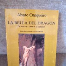 Libros de segunda mano: ÁLVARO CUNQUEIRO - LA BELLA DEL DRAGÓN - TUSQUETS, 1991 - MARGINALES, 116. Lote 274838093