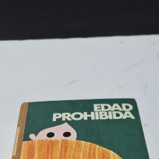 Libros de segunda mano: BONITO LIBRO EDAD PROHIBIDA. TORCUATO LUCA DE TENA. CIRCULO DE LECTORES. Lote 275497628