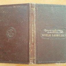 Libros de segunda mano: 1882 NOVELAS EJEMPLARES - CERVANTES. Lote 275702198