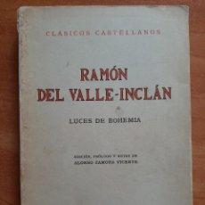 Libros de segunda mano: 1978 LUCES DE BOHEMIA - RAMÓN DEL VALLE - INCLÁN COMPARTIR LOTE. Lote 276090973