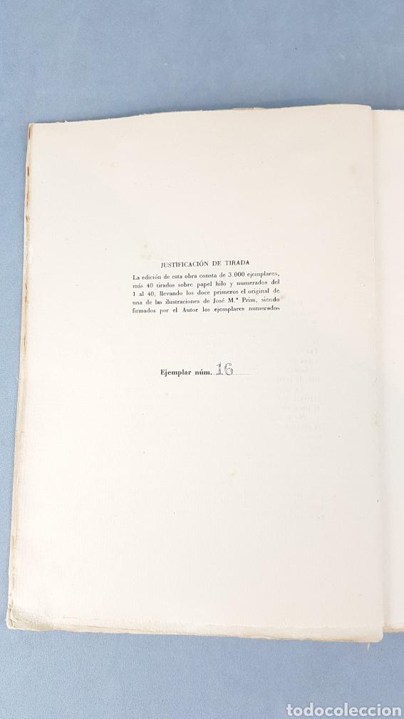 Libros de segunda mano: LA VIDA DE PRISA CESAR GONZÁLEZ - RUANO. PRIMERA EDICIÓN ESPECIAL NUMERADA. EJEMPLAR N.16. Año 1946 - Foto 4 - 276735678