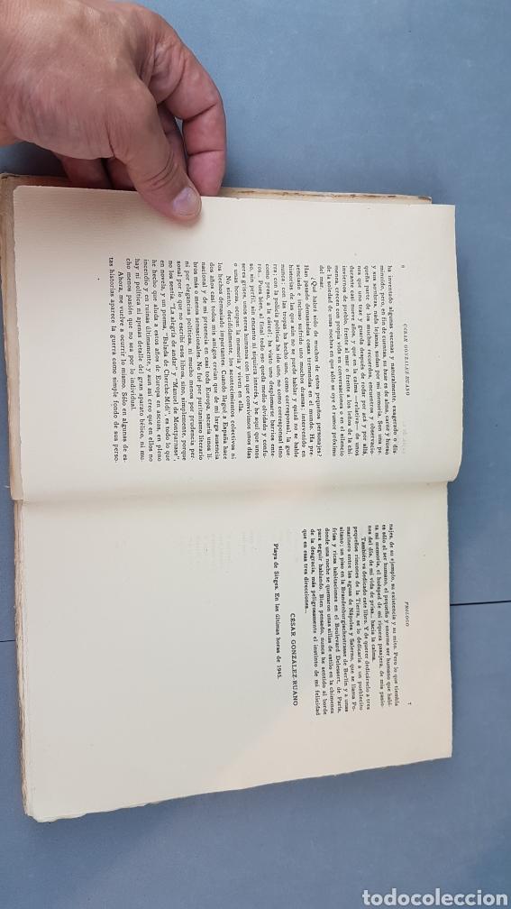 Libros de segunda mano: LA VIDA DE PRISA CESAR GONZÁLEZ - RUANO. PRIMERA EDICIÓN ESPECIAL NUMERADA. EJEMPLAR N.16. Año 1946 - Foto 6 - 276735678