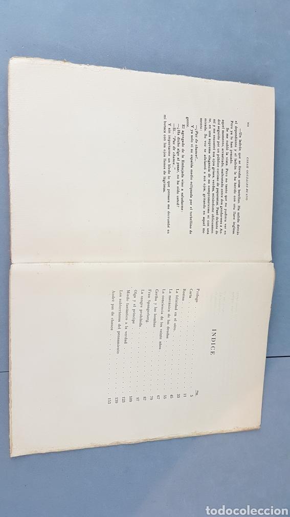 Libros de segunda mano: LA VIDA DE PRISA CESAR GONZÁLEZ - RUANO. PRIMERA EDICIÓN ESPECIAL NUMERADA. EJEMPLAR N.16. Año 1946 - Foto 12 - 276735678