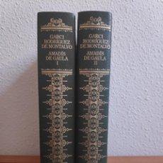 Libros de segunda mano: AMADÍS DE GAULA, GARCÍA RODRÍGUEZ DE MONTALVO, 2 TOMOS GRANDES CLÁSICOS UNIVERSALES. Lote 276736943