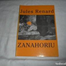 Libros de segunda mano: ZANAHORIU.JULES RENARD.LIBROS DEL PEXE GIJON 1991. Lote 276747783