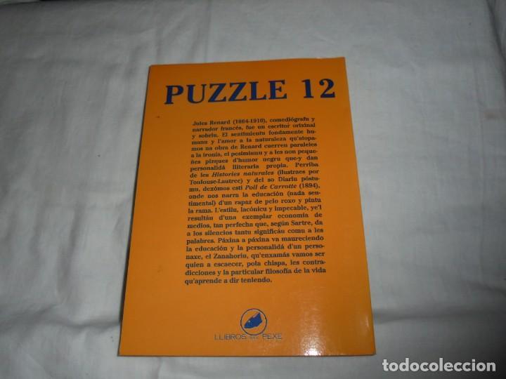 Libros de segunda mano: ZANAHORIU.JULES RENARD.LIBROS DEL PEXE GIJON 1991 - Foto 10 - 276747783