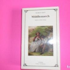 Libros de segunda mano: MIDDLEMARCH, GEORGE ELIOT, ED. CÁTEDRA. Lote 276778078