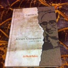 Libros de segunda mano: O MELLOR DE... ÁLVARO CUNQUEIRO (1911-1981) ED. LA VOZ DE GALICIA, 2010. Lote 276940713