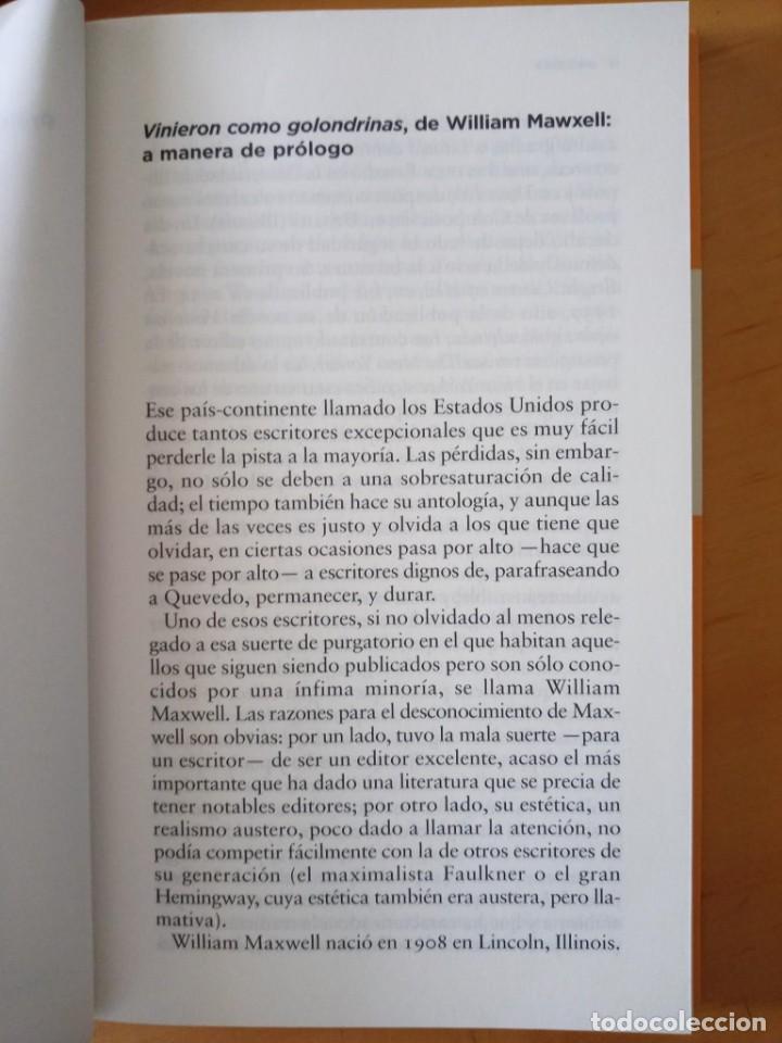Libros de segunda mano: WILLIAM MAXWELL VINIERON COMO GOLONDRINAS - Foto 7 - 276961563