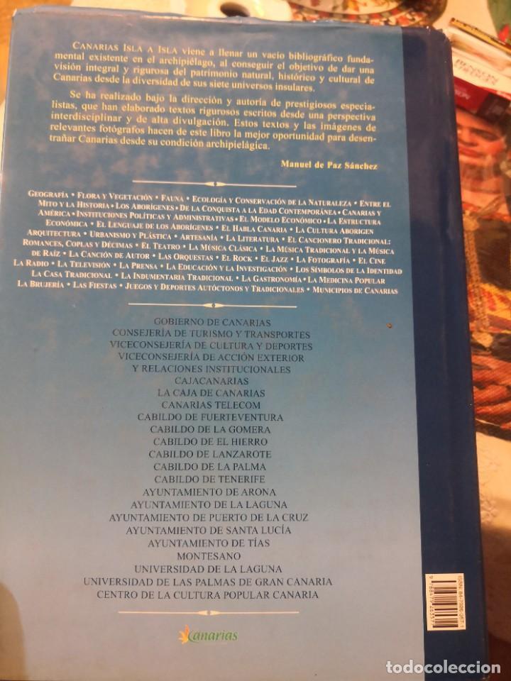 Libros de segunda mano: Libro grande tapa dura ilustrado y narrativas de Canarias Isla a isla 631 páginas - Foto 3 - 276961713
