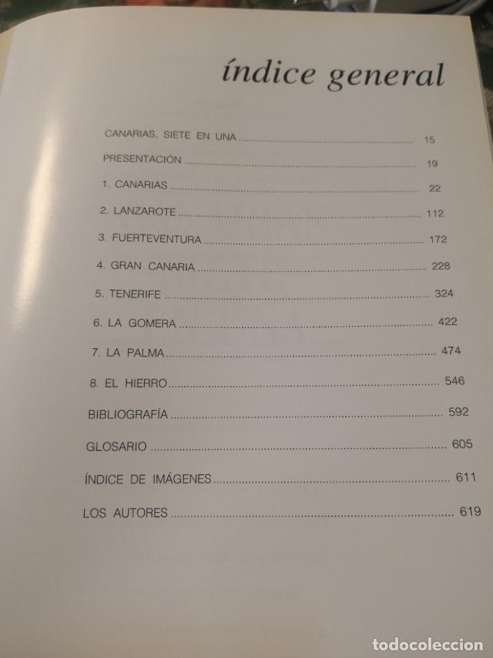 Libros de segunda mano: Libro grande tapa dura ilustrado y narrativas de Canarias Isla a isla 631 páginas - Foto 4 - 276961713