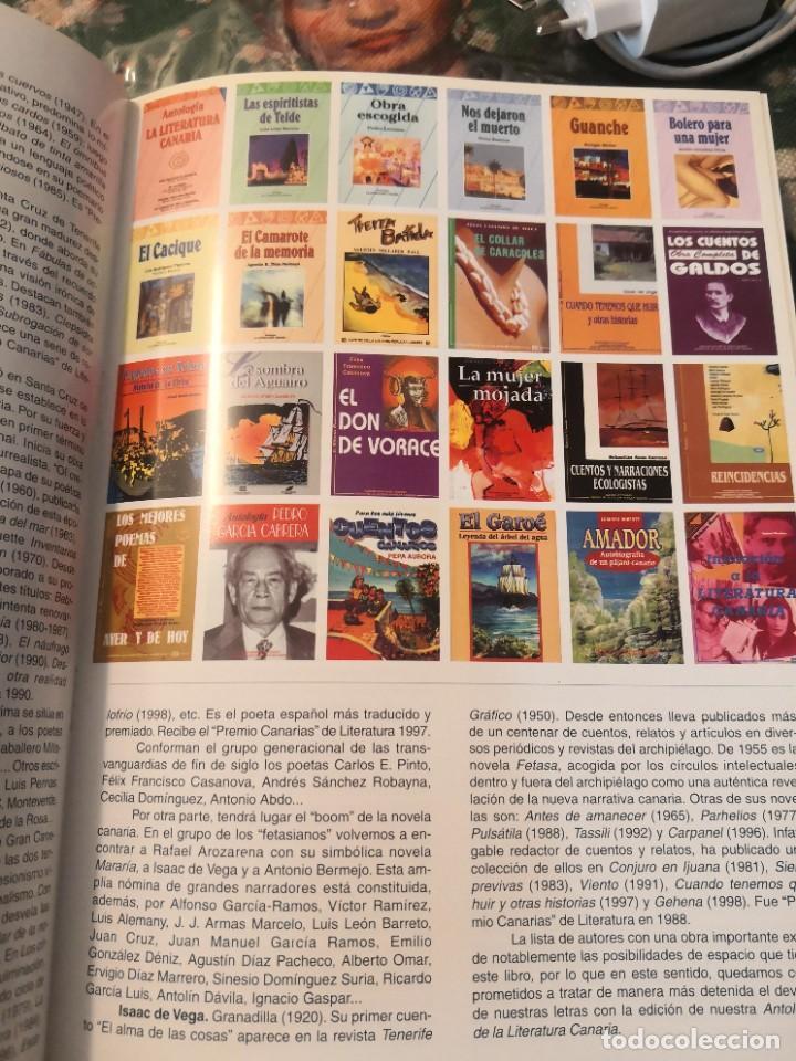 Libros de segunda mano: Libro grande tapa dura ilustrado y narrativas de Canarias Isla a isla 631 páginas - Foto 7 - 276961713
