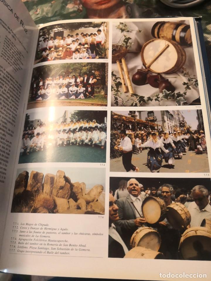 Libros de segunda mano: Libro grande tapa dura ilustrado y narrativas de Canarias Isla a isla 631 páginas - Foto 8 - 276961713