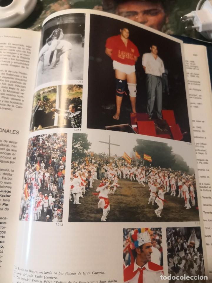 Libros de segunda mano: Libro grande tapa dura ilustrado y narrativas de Canarias Isla a isla 631 páginas - Foto 9 - 276961713