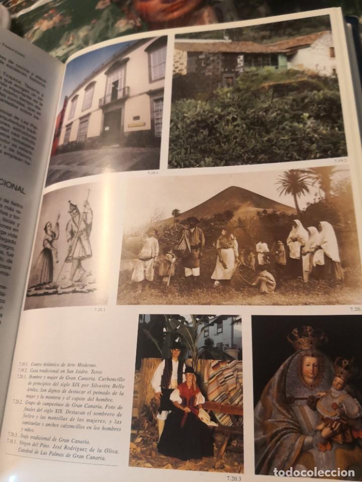 Libros de segunda mano: Libro grande tapa dura ilustrado y narrativas de Canarias Isla a isla 631 páginas - Foto 10 - 276961713