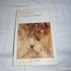 Libros de segunda mano: CUENTOS CHINOS(EN ASTURIANO).JOSE LUIS RENDUELES.EDICIONES TRABE OVIEDO 2001. Lote 276962233
