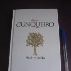 Libros de segunda mano: MERLIN Y FAMILIA - ALVARO CUNQUEIRO - EL PAIS 2003 - TAPA DURA - 217 PAGS - SIN USO. Lote 277074788