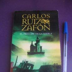 Libri di seconda mano: EL PRINCIPE DE LA NIEBLA - CARLOS RUIZ ZAFON - PLANETA BOOKET 2012 - POCO USO. Lote 277127613